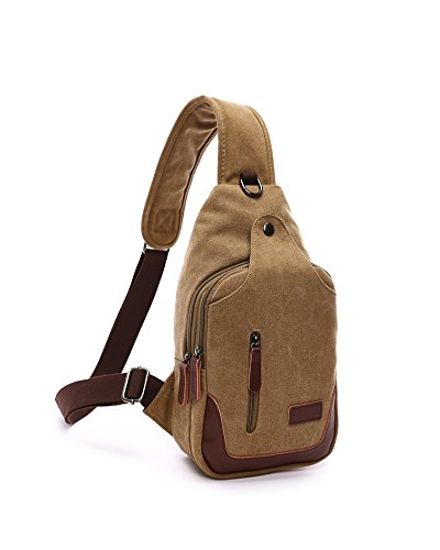 Lalagen Daypack Durable Crossbody Backpack