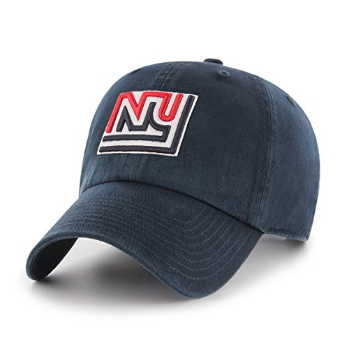 NFL New York Giants Legacy OTS Challenger Adjustable Hat, One Size, Navy (Ny Giants Logo)