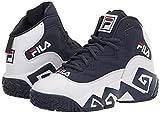Fila Men's MB Sneaker, White Navy Red, 9