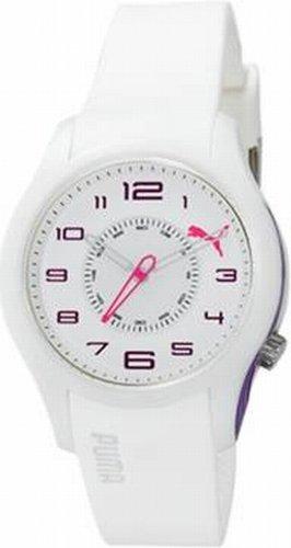 45049d23b7c8 Puma Time - Reloj analógico de cuarzo para mujer con correa de plástico