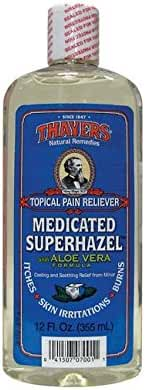 Thayers Witch Hazel Aloe Vera Formula, Medicated 12 oz