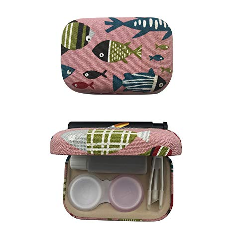 Portable Travel Contact Lens Case Box Eye Care Kit Holder Mirror Box,Q1512 from HEMALL