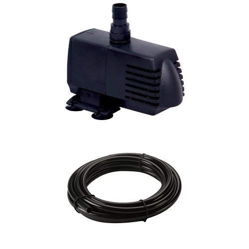 EcoPlus 728310 Eco 396 Submersible Pump, 396GPH and Vinyl Tubing Bundle ()