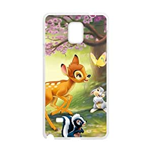 Spring scenery deers and lovely small animal Cell Phone Case for Samsung Galaxy Note4
