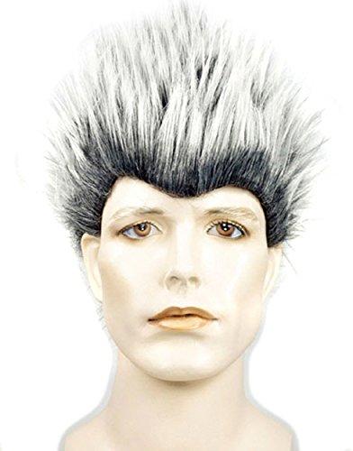 UHC Men's Synthetic Fiber Porcupine Wig Halloween Anime