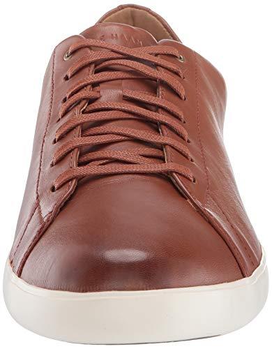 Cole Haan Men's Grand Crosscourt II Sneaker, Tan Leather Burnsh, US 11.5W