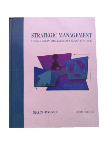 strategic management formulation implementation and control essay Free essays on strategy formulation implementation strategy formulation strategy implementation strategy evaluation and control strategic management.