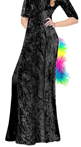 Furry Rainbow Faux Fur Fluffies Pin-on Unicorn