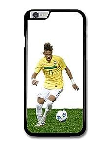 Neymar Running Brasil Football Player case for iPhone 6 Plus