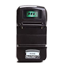 ReVIVE ReLOAD ST Universal Camera Li-Ion Battery Wall Charger with Sliding Contact Pins - Works With Sony Cyber-Shot , Canon PowerShot , Nikon Coolpix and More Digital Cameras