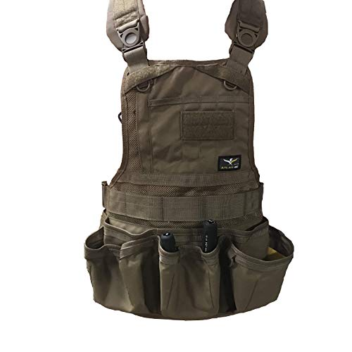 (Atlas 46 JourneyMESH Open Pocket Chest Rig, Coyote )