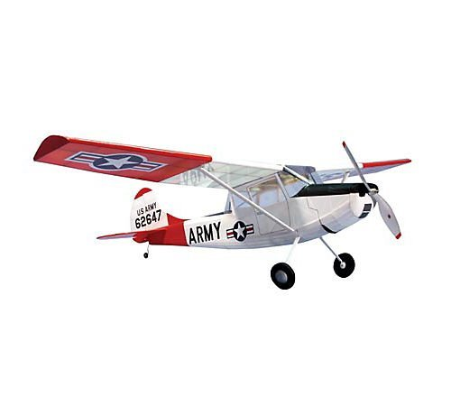 L19 Bird Dog Wooden Airplane Kit 40