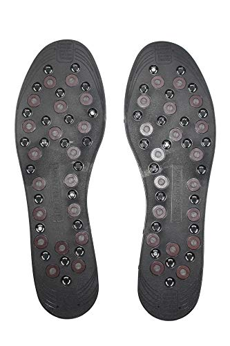 Nikken 1 mStrides Insoles, 20211, Men Shoe Sizes 7 to 13, Pair, Cut to Fit, Magnetic Therapy, Improve Blood Circulation, Kenko