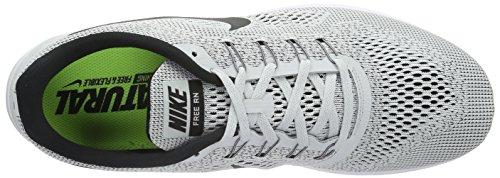 White Black Grey Platinum Men's RN Pure Free Nike CtB4wqc