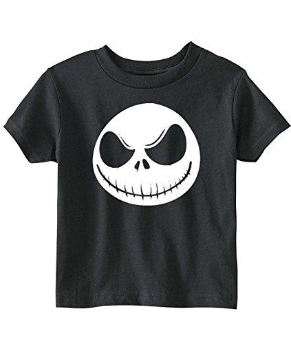 Nightmare Before Christmas Toddler Jack Skellington T-Shirt (4T, Black) ()