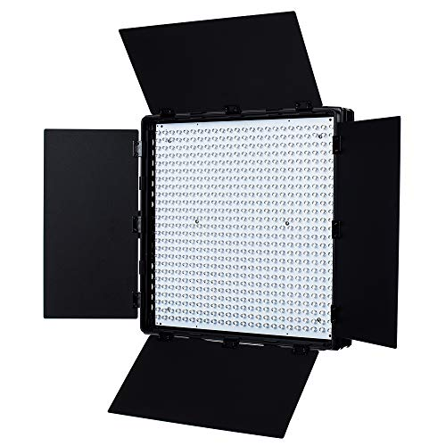 Fovitec - 1x Photography & Video 2nd Gen Daylight 600XD LED Panel w/Filters & Bag - [95+ CRI][Continuous Lighting][Stepless Knobs][V-Lock][5600K]