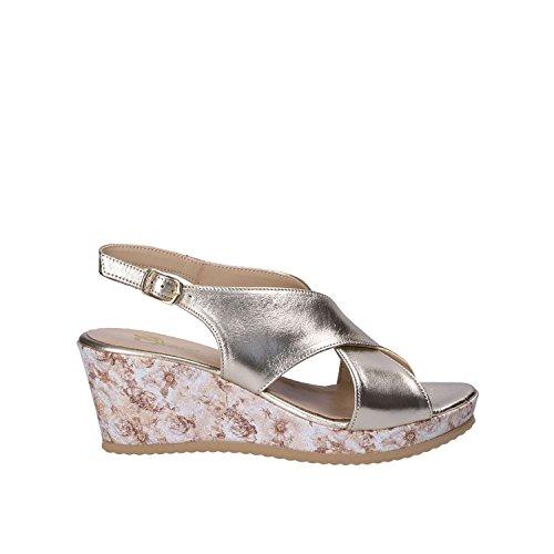039 Sandali Grace donna Zb con Shoes gialli zeppa da UtqfSwEq6
