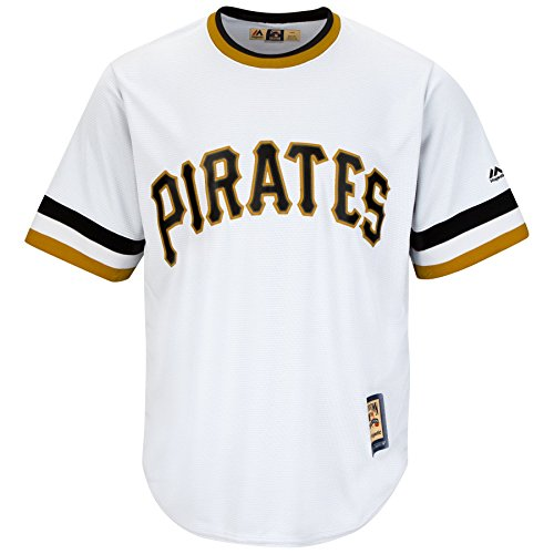 Pittsburgh Pirates MLB Youth Cool Base Cooperstown Pullover Jersey (Youth Medium 10/12)