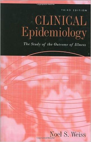 Téléchargez des ebooks gratuits pour ipad ibooksClinical Epidemiology: The Study of the Outcome of Illness (Monographs in Epidem (Littérature Française) PDF B0027SL3BI