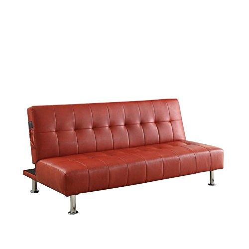 Amazon.com: furniture of america Hollie cama sofá cama de ...