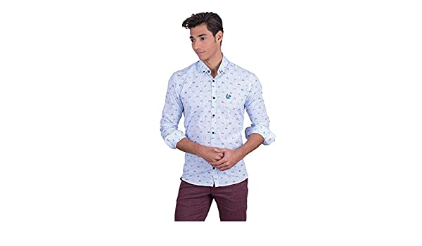 Camisa con Estampado de Vespas: Amazon.es: Ropa y accesorios