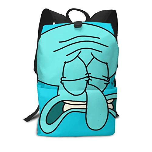 JacobCloe Women Sad Squidward Tentacles Solid And Wear Resistant Lightweight Luggages For ()