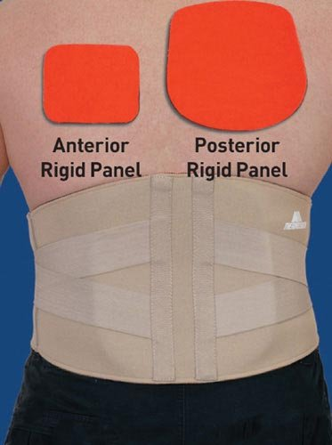 AP Rigid Lumbar Support Large by Marble Medical