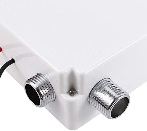 蛇口タップ、G1/2inスレッド赤外線自動センサー蛇口電気めっきタップ隠しインストールアクセサリー