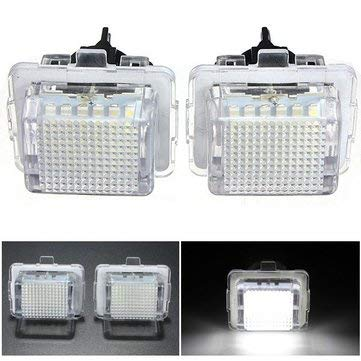2x 18 LED License Number Plate - Tail Light Assemblies Tail-Lights - 2 X Motorcycle Turn Signal Lights