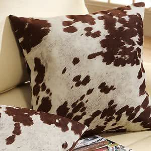Amazon Com Must Have Decorative Accent Throw Toss Cow