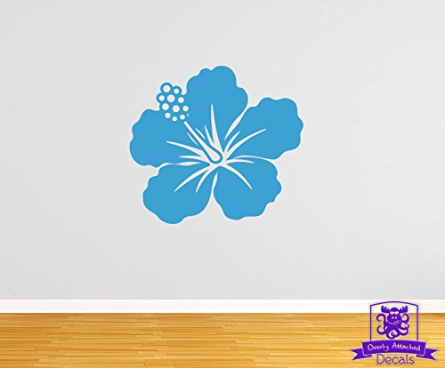 Overly Attached Decals Hawaiian Flower 35