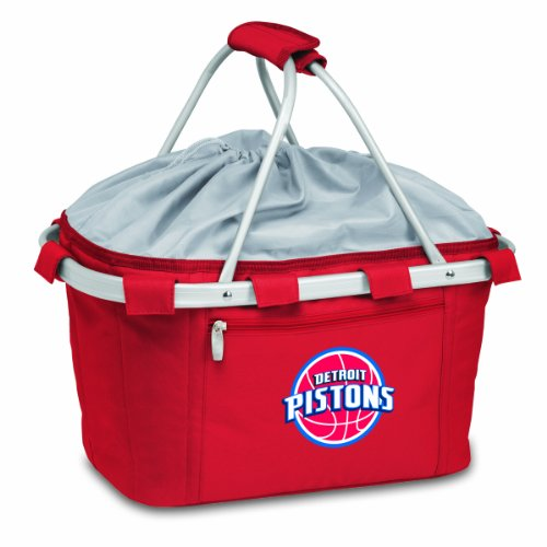 - NBA Detroit Pistons Insulated Metro Basket, Red