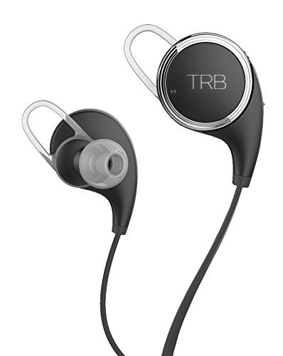 lifetime warranty tribe trb wireless bluetooth 4 0 fitness headphone lightweight earbuds. Black Bedroom Furniture Sets. Home Design Ideas
