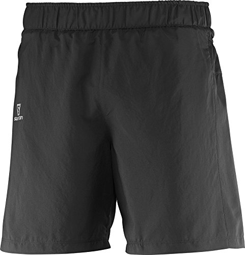 (Salomon Trail Runner Short M, Black, Medium)