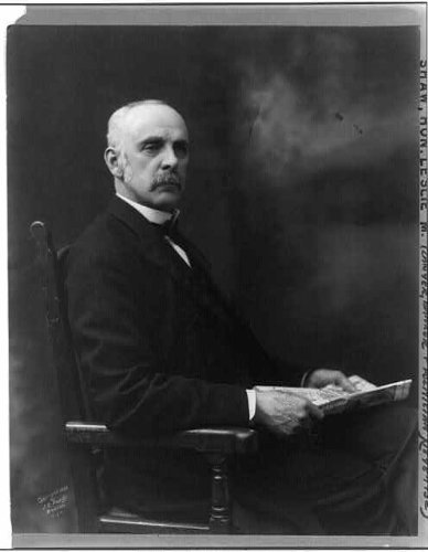 Photo: Leslie Mortier Shaw,1848-1932,American businessman,lawyer,politician 1