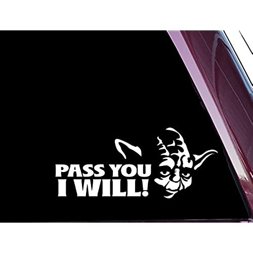 Yoda Window Decals Amazoncom - Window decals amazon