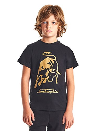 LAMBORGHINI Big Bull Kid's T-Shirt, Black (8 Years)