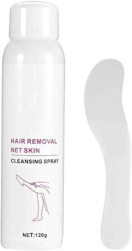 Crema depilatoria, Espray para depilación, Belleza Efecto rápido sin estimulación Alimente su piel para prevenir el crecimiento del vello corporal.: Amazon.es: Belleza
