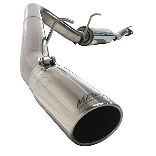 MBRP S5042409 T409-Stainless Steel Single Side Cat Back Exhaust System