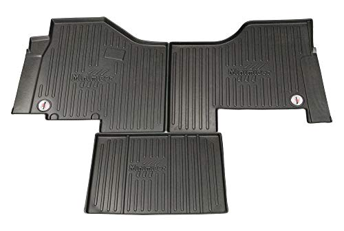 MINIMIZER Floor Mats; Peterbilt 579 2013-2019; Peterbilt 567 2014-2019; Kenworth T680 2013-2019; Kenworth T880 2014-2019; (auto Trans) Incompatible w/Battery Box Under Passenger seat Part #FKPCR1AB (Best Truck Battery 2019)