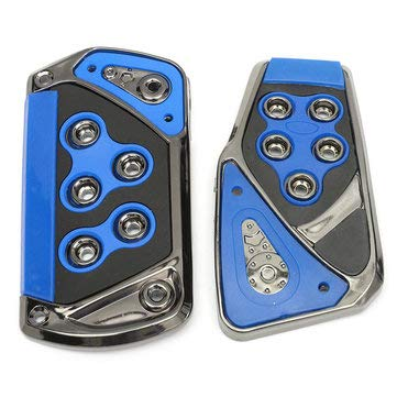 - Universal Non-Slip Automatic Transmission Car Brake Accelerator Pedal Pad Cover - Auto Parts Other Tools - (Blue) - 1 X Car Pedals
