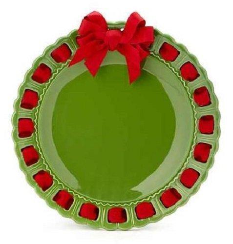 Green Round Platter (Prissy Plates 12003-168 12