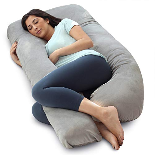 Full Body Pregnancy Pillows - PharMeDoc Pregnancy Pillow, U-Shape Full Body