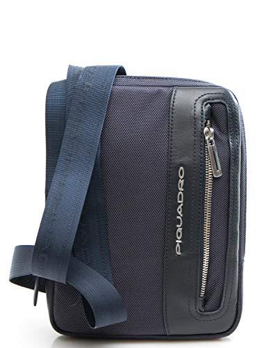 Bandolera Link Cm 2 16 Piquadro Bolso Blu fz717Wq