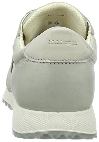 Gris Weiß Gravel 42 Baskets Femme Basses White Ecco Gravel EU Ladies Sneak 50399gravel gqS6xAf