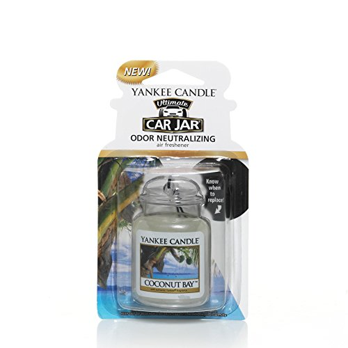 Yankee Candle Car Jar Ultimate, Coconut Bay Coconut Bay Yankee Candle