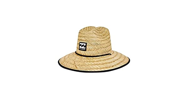 4b4f1a33 Amazon.com: Billabong Boys' Tides Straw Hat Natural One Size: Clothing
