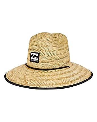 03de577daaa92b Amazon.com  Billabong Boys  Tides Straw Hat Natural One Size  Clothing