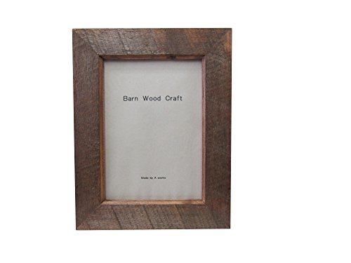Frame Barnwood planar 8 x 10 antique mahogany by A-WORKS