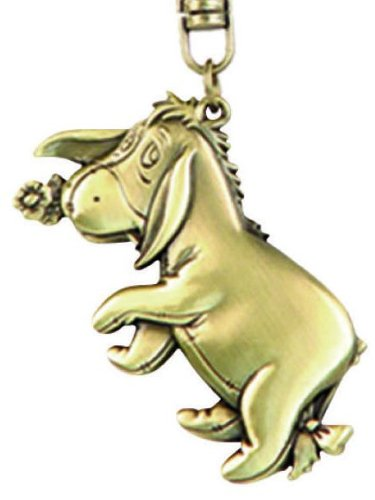 - Disney Eeyore Brass Key Ring